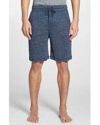 Daniel Buchler Men'S Knit Linen Shorts - Lyst