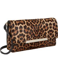 Christian Louboutin Leopardprint Rougissime Clutch - Lyst