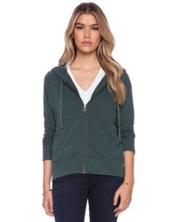 James Perse Vintage Cotton Hoodie - Lyst