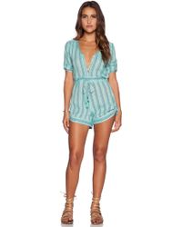 Spell & The Gypsy Collective - Island Boho Romper - Lyst