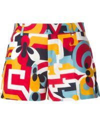 DSquared² Printed Shorts - Lyst