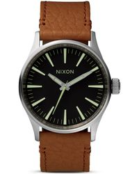 Nixon The Sentry Watch, 38Mm - Lyst