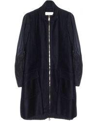 O'2nd - Mogan Patched Zip Up Coat - Lyst