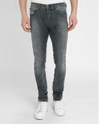 DIESEL   Grey Tepphar Slim-fit Jeans   Lyst