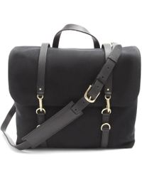 Mismo Satchel Black Messenger Bag - Lyst