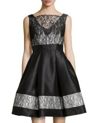 Theia A-line Cocktail Dress - Lyst