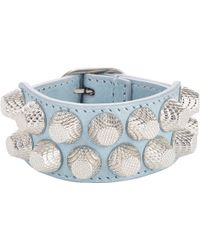Balenciaga Arena Two Row Giant Bracelet - Lyst