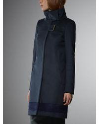 Patrizia Pepe Coat in Wool and Cashmere Cloth - Lyst