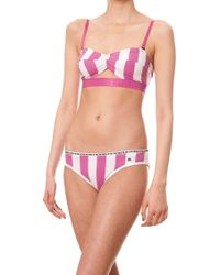 House Of Holland Deckchair Bra and Bikini - Lyst