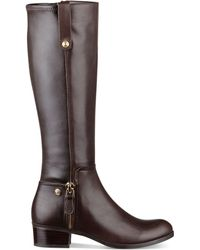 Guess Tafn Riding Boots - Lyst