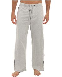 Kenneth Cole Reaction Super Soft Comfortable Lounge Pant with Piping Down Side - Lyst