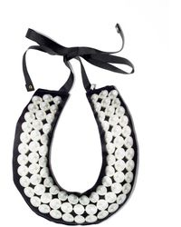 A'n'd Puffa Pearl Necklace - Lyst