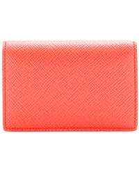 Smythson Panama Leather Card Holder - Lyst