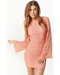 Nightcap Cherry Blossom Priscilla Dress - Lyst