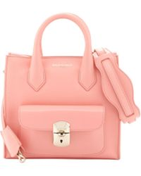 Balenciaga Padlock Mini All Crossbody Bag Coral - Lyst