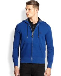 Burberry Brit Pearce Hooded Sweatshirt blue - Lyst
