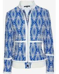 Timo Weiland - Jacquard Bomber Jacket - Lyst