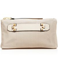 She + Lo - She + Lo Next Chapter Perforated Clutch - Compare At $98 - Lyst