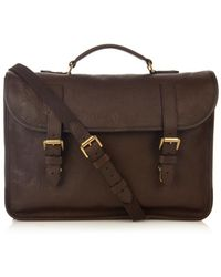 Mulberry Elkington Leather Briefcase - Lyst