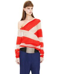 Acne Oil Poppy Redsand Stripe - Lyst