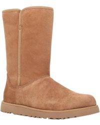 UGG - Michelle Flat Calf Boots - Lyst