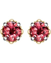 Theo Fennell - Gold And Tourmaline Bud Stud Earrings - Lyst