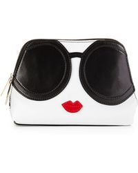 Alice + Olivia - Stacey Face Cosmetic Bag - Lyst