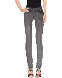 Current/Elliott | Denim Trousers | Lyst
