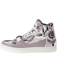 Versace Camo High Top - Lyst