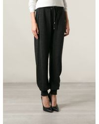 Jean Paul Gaultier - Knitted Track Pants - Lyst