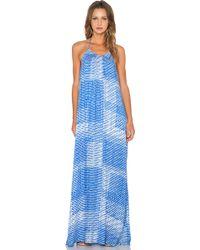 Three Eighty Two - Kallie Halterneck Maxi Dress - Lyst