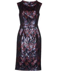 Frankie Morello Knee-Length Dress blue - Lyst