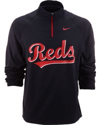 Nike Mens Cincinnati Reds Hot Corner Jacket - Lyst