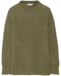 Fendi Mohair and Silkblend Sweater - Lyst