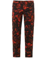 McQ by Alexander McQueen Overdyed Slimleg Jeans - Lyst