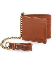 DSquared2 Leather Bifold Wallet - Lyst