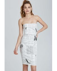 Nasty Gal Vintage Moschino Naples Bodycon Dress - Lyst
