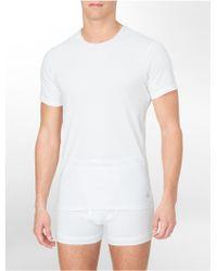 Calvin Klein Underwear Body Slim 3-Pack Crewneck T-Shirt - Lyst