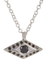 Wendy Nichol - Diamond & Silver Victorian Eye Pendant Necklace - Lyst