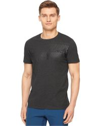 Calvin Klein Performance Logo Graphic T-Shirt gray - Lyst