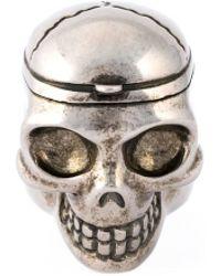 Alexander McQueen | Skull Ring | Lyst