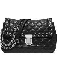 Michael Kors Sloan Large Quilted-leather Shoulder Bag - Lyst