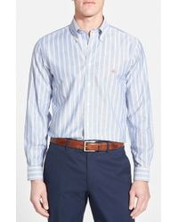 Brooks Brothers Non-Iron Madison Fit Oxford Stripe Sport Shirt - Lyst