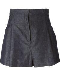 N°21 - High Waisted Shorts - Lyst