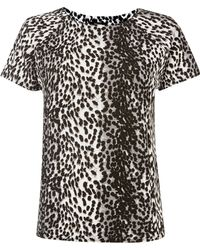 Therapy Animal Print Textured Top - Lyst