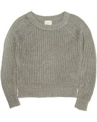 Giada Forte Ribbed Knit Linen Sweater - Lyst