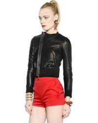 DSquared² Suede And Nappa Leather Jacket - Lyst