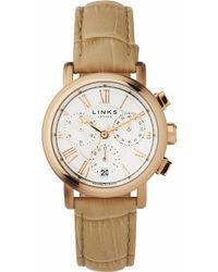 Links of London - Richmond Rose Gold-plated Watch - Lyst