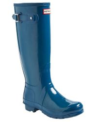 Hunter Original High Gloss Boot - Lyst