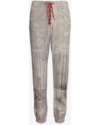 Rag & Bone | Quarterback Jersey Print Pajama Jean Grey | Lyst